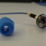 MDT earphone with Comply T-400
