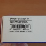 SGS3 Battery Charger - Package & model