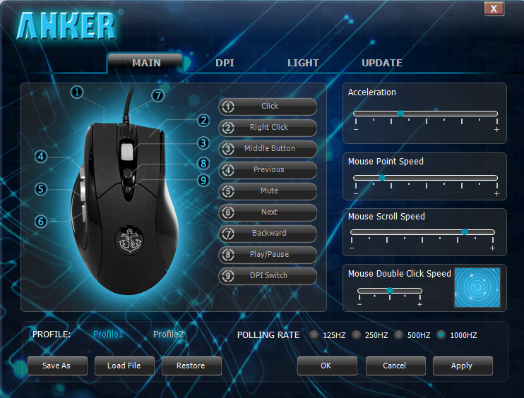 mouse software for gaming